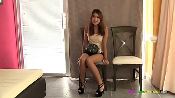 Innocent Thai teen fucked raw on casting couch 11 min