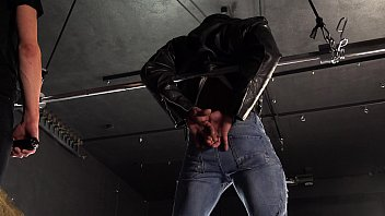 HOT STRAIGHT LATIN MUSCLE STUD TURNED BONDAGE PAIN SLAVE