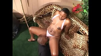Free cumshot rating - Horny ebony gal x-rated with natural tits gets her tight cunt banged hard by a black dick