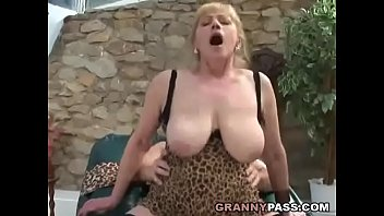 Busty granny fucks Young Cock pornhub video
