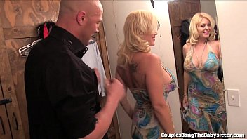 Horny Couple Has Threesome With Teen Babysitter!