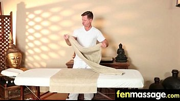 Husband Cheats with Masseuse in Room! 8 thumbnail