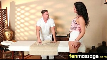 Husband Cheats With Masseuse In Room! 8
