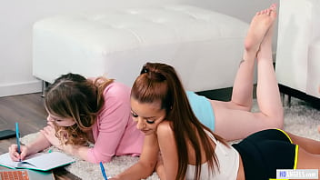 Lesbian threesome with nasty Stepsisters - Gia Derza,Vanna Bardot and Bunny Colby 6 min