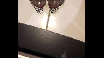 Multiple High heels fucking cogiendo con varios tacones