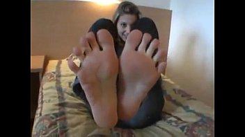 Johanna's Yummy Feet Tease