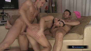 Rashia, Choky Ice, And Titus Steel In Hot DP Threesome