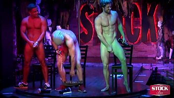 Where did the gay bar the redchair move to Presents the jerk off contest with 3 of our dancers competing.