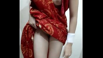 Desi Indian Bhabhi Video Chat with secret lover ( hindi me)