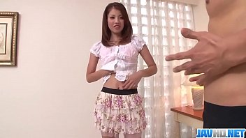 Karen Misaki kneels to suck cock and have sex  - More at javhd.net thumbnail