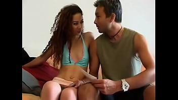 Young french arab teen slut enjoying white cock 22 min