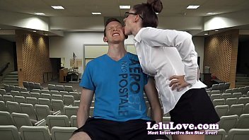 Teacher punishment with spit and saliva face licking - Lelu Love
