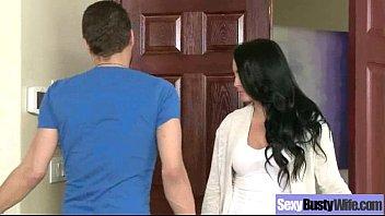 Sex Scene With Big Melon Tits Wife (farrah dahl) movie-13