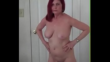 Nude wife showing off Redhot redhead show 4-22-2017
