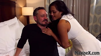 Oriental Maxine X Milks Another Man While Her Cuckold Husband Watches! 6 min