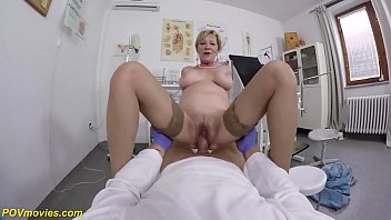 hairy 71 years old mom b. pov fucked by her doctor 12 min