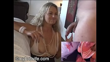 Jackie Housewife whore eats two loads of cum