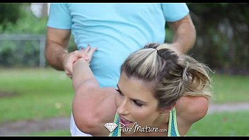 PureMature - Gorgeous athletic Cory Chase is fucked after her workout porno izle