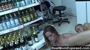 RealMomExposed - She Pays the Cashier With a Blowjob