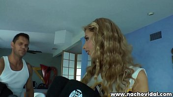 Teen cheerleader Molly Bennett is practicing her routine. Before long, Coach Nacho Vidal lifts Molly's plaid skirt to eagerly tongue her pussy and asshole!