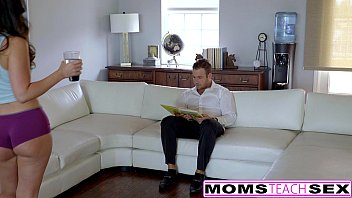 MILF Alexis Fawn Squirts Hard For Step-Son & GF thumbnail