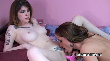 Indigo adult - Tattooed lesbians indigo and autumn play with toys