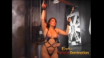 Erotic spanking fingering - Juicy slave doesnt make a sound as the mistress plays with her