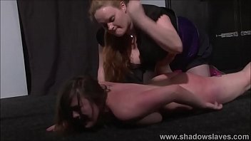 Austrailian cunt - Lesbian beating and kicking of humiliated cunt busting slave taylor heart by hea