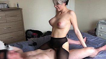 Lesbian takes first real cock - Samantha Flair