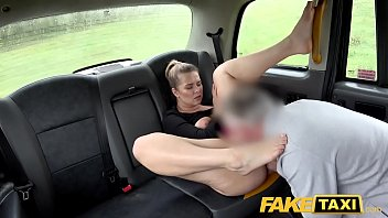 Fake Taxi Backseat fucking with hot blonde Czech tourist Nikky Dream
