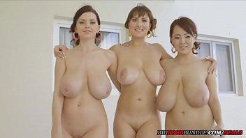 Three girls with perfect natural tits porno izle