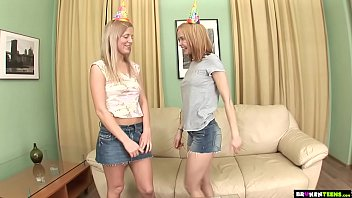 Birthday Party Turns Into Threesome 11 min
