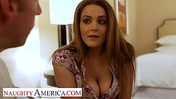 Naughty America - Natasha Nice is one hot student in need for some financial help and cock