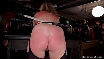 Hot sluts are fucking at bdsm orgy