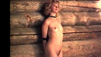 Blonde masturbates after BDSM nigth thumbnail