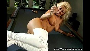 MILF Housewife Masturbates At Home