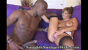 Sexy black heels Naughty wife fucks big cock
