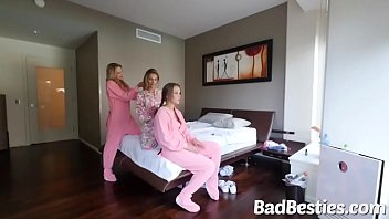 Beautiful Chick Nailed during Sleepover