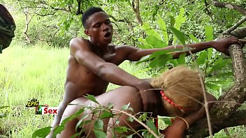 African boys porn - African princess and her village lover - slutty village wife trailer
