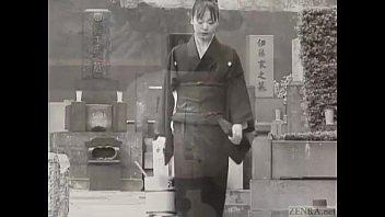 Subtitled mourning Japanese wife Aya Otosaki debt payback thumbnail