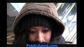 PublicAgent Homeless girl gets fucked to pay for hotel Preview