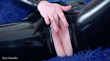 Hot latex rubber hitachi sex video