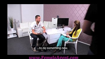 Femaleagent Big Cock Delivers Creampie Present After Casting Fuck Frenzy