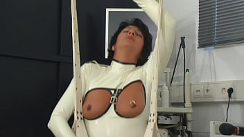 Extreme anal masturbation