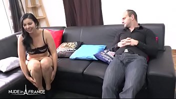 Casting couch of a pretty small titted french slut ass pounded and prolapsed