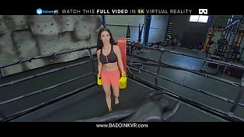 Sex Sparring Session With Busty Nelly Kent