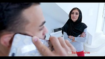 SISTER in HIJAB acts all DIRTY for BROTHER