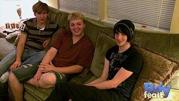 Three Boys Having Some Fun