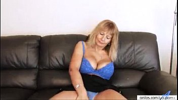Dear god boobs Youporn - sandy dear busty mature fingering her hairy pussy