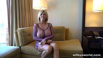 thumb wifey gets tits  creamed in vegas as as as